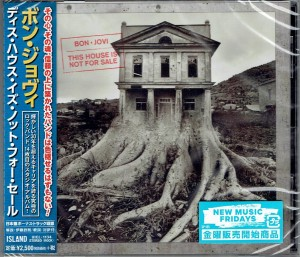 BON JOVI This House Is Not For Sale JAPAN CD incl postcard (UICL-1134)