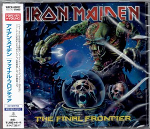 IRON MAIDEN The Final Frontier JAPAN CD WPCR-80032