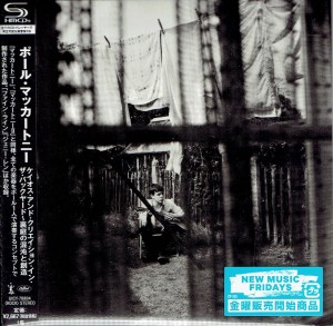 PAUL MCCARTNEY Chaos And Creation In The Backyard (UICY-78804 JAPAN SHM-CD miniLP)