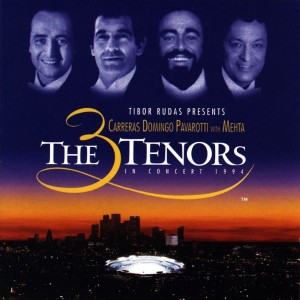 CARRERAS DOMINGO PAVAROTTI 3 Tenors In Concert 1994 -2LP