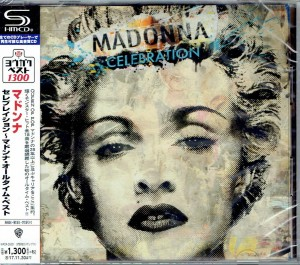 MADONNA Celebration JAPAN SHM-CD WPCR-26301
