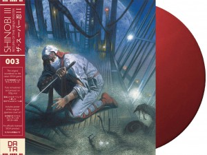 SEGA- SHINOBI III: RETURN OF THE NINJA MASTER - Sega OST - Red [Oxblood]  LP DATA003