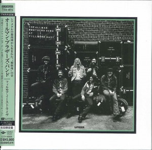 THE ALLMAN BROTHERS BAND At Fillmore East SHM CD HRcut platinium