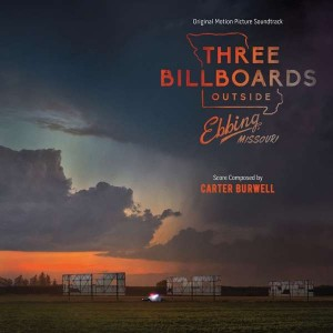CARTER BURWELL Three Billboards Outside Ebbing, Missouri (LP)