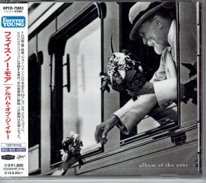 FAITH NO MORE Album Of The Year JAPAN CD (WPCR-75663)