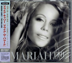 MARIAH CAREY The Ballads -  JAPAN CD +BONUS SICP-2100 (JEWEL CASE EX)