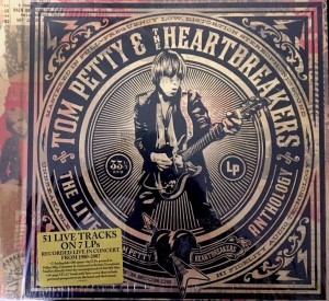 TOM PETTY Live Anthology (2009 US box 7xLP 180g)