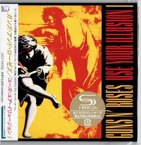 GUNS N' ROSES Use Your Illusion 1 SHM JAPAN cardboard (UICY-94336)