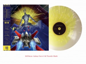Galaxy Force II & Thunder Blade SEGA OST - (DATA010 Clear Frosted)