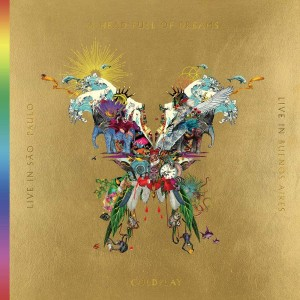 COLDPLAY Live In Buenos Aires/ Live In San Paulo/ A Head Full of Dreams (3xLP+2xDVD)