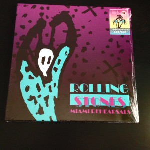 ROLLING STONES 1994 Miami Rehearsals - 3LP+3CD box (№ 200/500)