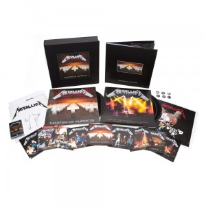 METALLICA Master Of Puppets (REMASTERED DELUXE BOX)