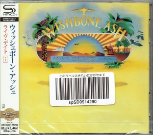 WISHBONE ASH Live Dates 2xSHM JAPAN (UICY-25385)