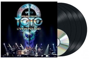 TOTO Live In Poland (35th Anniversary) 3xLP+2xCD