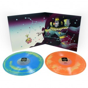KATAMARI DAMACY Original Video Game Soundtrack 2xLP (SWIRL COLOR VINYL)