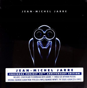 JEAN-MICHEL JARRE Equinoxe Project (BOX 2xLP+2xCD)