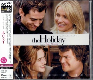 HANS ZIMMER The Holiday (JAPAN CD OST)