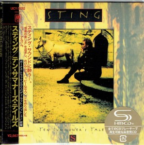 STING Ten Summoner's Tales (UICY-78283 JAPAN CARDBOARD SHM)