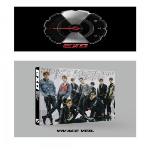 EXO Don't Mess Up My Tempo (VIVACE VERSION) KPOP CD