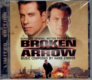 HANS ZIMMER Broken Arrow (JAPAN 2xCD)