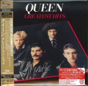 QUEEN Greatest Hits JAPAN SHM-CD cardboard miniLP (UICY-77921)