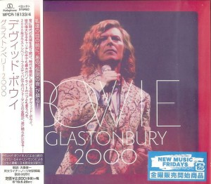 DAVID BOWIE Glastonbury 2000 (JAPAN 2xCD)
