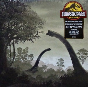 JURASSIC PARK -  John Williams OST 180g 2xLP (MOND-017)