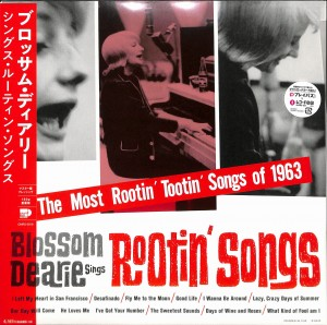 BLOSSOM DEARIE Sings Rootin' Songs (JAPAN LP)