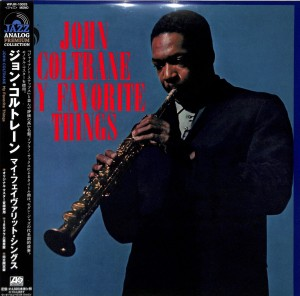 JOHN COLTRANE My Favorite Things (JAPAN LP)