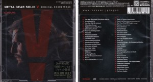 METAL GEAR SOLID 5 (JAPAN 2xCD)