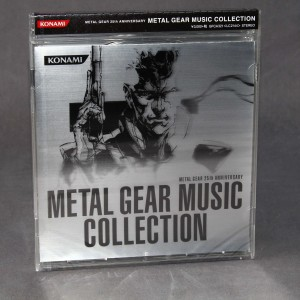 METAL GEAR 25th Anniversary Metal Gear Music Collection (JAPAN 2xCD)