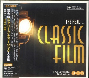 THE REAL CLASSIC FILM COLLECTION - JAPAN 3xCD