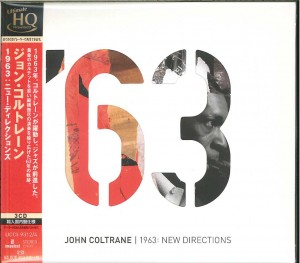 JOHN COLTRANE 1963: New Directions (JAPAN 3xUHQCD)