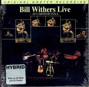 Bill Withers Live At Carnegie Hall (UHR HYBRID SACD)