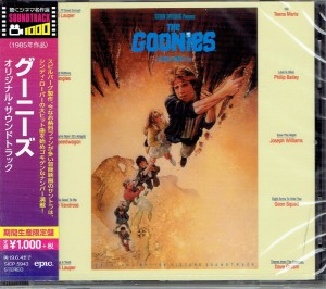 The Goonies (JAPAN CD OST)