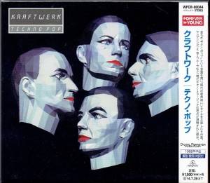 KRAFTWERK Techno Pop JAPAN CD REMASTERED (WPCR-80044)