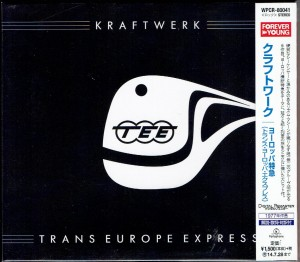 KRAFTWERK Trans Europe Express JAPAN CD REMASTERED (WPCR-80041)