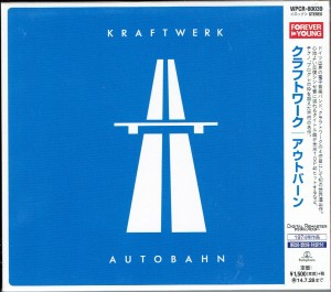 KRAFTWERK Autobahn JAPAN CD REMASTERED (WPCR-80039)