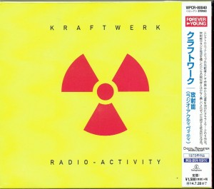 KRAFTWERK Radio-Activity JAPAN CD REMASTERED (WPCR-80040)