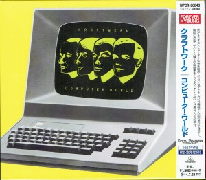 KRAFTWERK Computer World JAPAN CD REMASTERED (WPCR-80043)