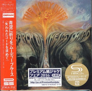MOODY BLUES In Search Of The Lost Chord (JAPAN SHM UICY-77988)