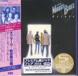 THE MOODY BLUES Octave (JAPAN SHM-CD UICY-77994)