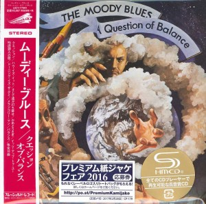 THE MOODY BLUES A Question Of Balance JAPAN (SHM-CD UICY-77991)
