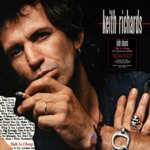KEITH RICHARDS Talk Is Cheap (30th ANNIVERSARY INDIE RED VINYL)