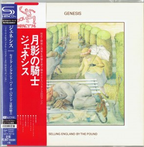 GENESIS Selling England By The Pound JAPAN SHM 2014 miniLP UICY-76718