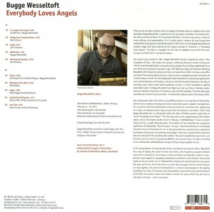 BUGGE WESSELTOFT  Everybody Loves Angels (180g LP)
