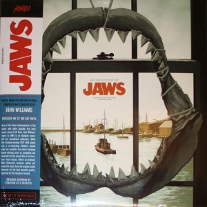 JOHN WILLIAMS Jaws - MONDO 2xLP (45rpm)