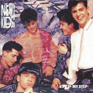 NEW KIDS ON THE BLOCK Step By Step (JAPAN CD)