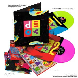 DEVO Smooth Noodle Maps (DELUXE BRAIN DRAIN NEON COLOR)