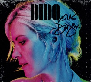 DIDO Still On My Mind CD SIGNED BY DIDO